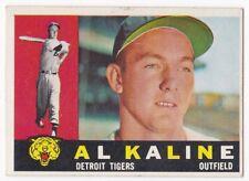 AL KALINE 1960 Topps Baseball # 50 Detroit Tigers HOF Ex Plus