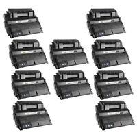 10 Pack Q5942X 42X High Yield Black Printer Laser Toner Cartridge for HP