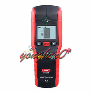 NEW High Accuracy UNI-T UT387B Portable Wall Detector Metal Wood AC Cable Finder