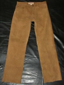 FUENTE GERMANY PREMIUM LEATHER JEANS BREECHES BLUF MR B MR S GAY INTEREST FETISH
