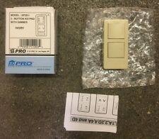 X10 Pro XP2D-I 2-Button Ivory Keypad (1-Address/1-Dimmer)
