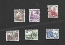 NORFOLK ISLANDS 1953 Set  used