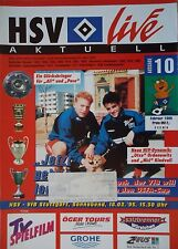 Programm 1994/95 HSV Hamburger SV - VfB Stuttgart