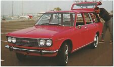 1968 DATSUN NIssan New STATION WAGON Original Dealer NOS Promo Postcard UNUSED ^