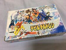 Game Boy Advance Gba Megami Tensei Devil Children Hikari Japan