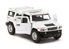 Hummer H2 Toy Model Alloy Diecast SUV Terrain 4X4 4WD Off Army Car Collectable