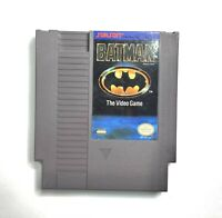 Batman: The Video Game (Nintendo Entertainment System, 1990) Authentic Tested DC