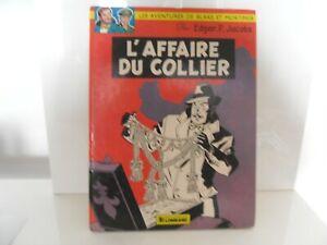 """BD - """" Mortimer - L'affaire du collier """"  de E.P. Jacobs - 1977"""