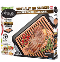 Gotham Steel Smokeless Electric Grill - Nonstick & Portable, As Seen on TV - NEW