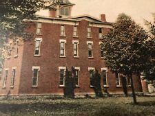 Boys Dormitory Spring Arbor Seminary Spring Arbor Michigan Postcard