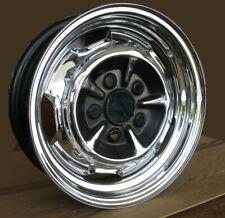 4 RS Felgen Chrom 5J x 14 für Ford P7 (17m RS, 20m RS, 26m RS )