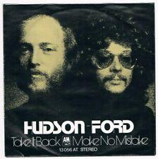 "Hudson-Ford (Ex ""Strawbs"") - Take It Back / Make No Mistake / Single von 1973"