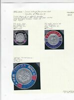 tonga 1967 coronation issue stamps on 2 pages ref r11356