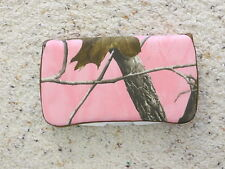 Pink Realtree camo Wipe Case by EMIJANE