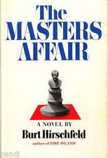 The Masters Affair by Burt Hirschfeld HC DJ