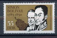 ALEMANIA/RDA EAST GERMANY 1983 MNH SC.2363 Simon Bolivar