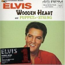 ELVIS PRESLEY Wooden Heart LIMITED EDITION RARE TRX  #32607 CD Single SEALED
