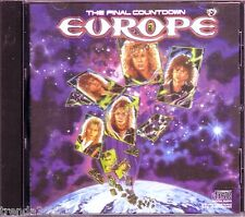 EUROPE The Final Countdown CD Classic 80s Rock Great CARRIE LOVE CHASER CHEROKEE