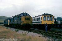 British Rail 37176/37177 Welsh Warrior Railtour 1979 Rail Photo D