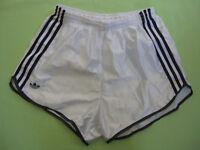 Short Adidas Blanc polyamide Vintage football ancien 90'S rétro - 112