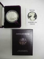 1986 United States Mint American Eagle Silver Proof Coin with COA & Box US Mint