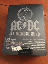 AC/DC let There Be Rock 2 DVD Set Limited Edition 30th Anniversary New Sealed