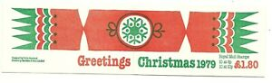 GREAT-BRITAIN/ GB / UK: Posrtage Stamp Booklet  Christmas 1979 / MNH