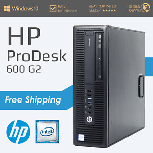 HP ProDesk 600 G2 - i3/i5 6th Gen + up to 240GB SSD & 500GB HDD - 4GB RAM