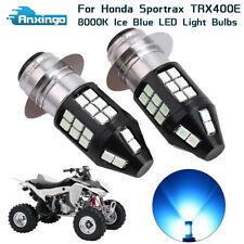 Honda ATV Sportrax 400 1999-2008 H6 Xenon HID Hyper Blu//Wht Headlight Bulb Light