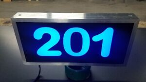 LED Lighted Address Sign, Plaque Address Numbers, House numbers, House Marker