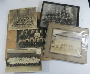(5) 1900's to 1930's Football Cabinet Photo Collection w/ Bowdion College