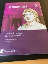 Adeamus! 2  Ausgabe C. Handreichungen. Alle Übersetzungen und Lösungen