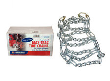 New PAIR 2 Link TIRE CHAINS 23x10.50-12 John Deere Lawn Mower Tractor Rider