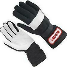SIMPSON RACING 22600SK DRIVING GLOVES  SMALL  (BLACK) **