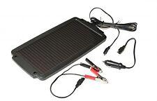 Panel Solar De 12V Batería Cargador 2.4W * COCHE, CARAVANA, AUTOCARAVANA, BARCO