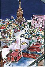 Bob Dylan Drawn Blank, Bell Tower Stockholm, Invite Card 2013