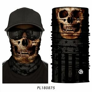Face Mask Band Cover Skull Breathable Soft Tube Scarf Neck Shield Hats Quick Dry