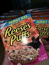 (8) Travis Scott x Reese's Puffs cereal Family Size *Sold Out* $15 Each