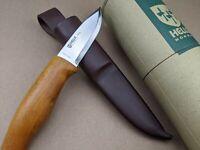 Helle Knives - Skog Knife - Norway Made - Triple Laminate Steel + Leather Sheath