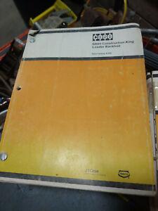 CASE 680H CONSTRUCTION KING LOADER BACKHOE PARTS CATALOG A1404