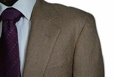 $1395 Ralph Lauren Polo USA Tan Red Tickweave 2 Button Sport Coat size 40R C173