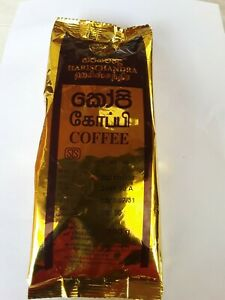 Harischandra Ceylon Black Coffee 100% Natural Freshness Real Aroma Powder,Flavor
