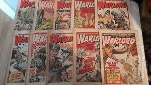 10X 1970s WARLORD COMICS LOT 3