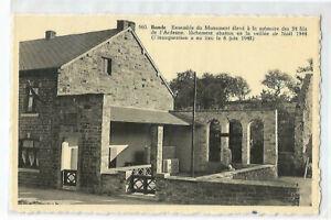 BELGIQUE , BANDSE , MONUMENT ELEVE A LA MEMOIRE DES 34 FILS DE L ARDENNE