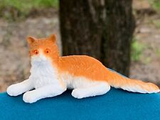 Dollhouse Accessory Miniature Detailed Norwegian Forest Cat Pvc Plastic Figure