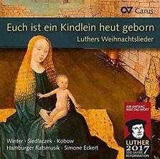 EUCH IST EIN KINDLEIN HEUT GEBORN: LUTHERS WEIHNACHTSLIEDER NEW CD