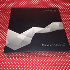 Sealed&Authentic Bluesound NODE 2 Wireless Streaming Music Player (BLACK/WHITE)