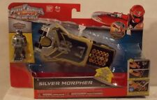 Power Rangers Super Megaforce Silver Morpher With Key & Sounds (MIB) Role Play