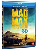 Mad Max Fury Road 3D + 2D Blu Ray