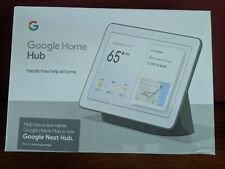 Google Home Nest Hub 7'' Built-In Google Assistant GA00515-US Charcoal